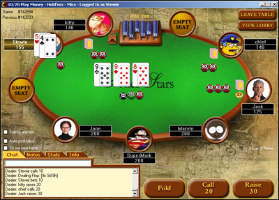 Poker software mtt